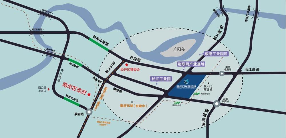 重庆网红地标地图